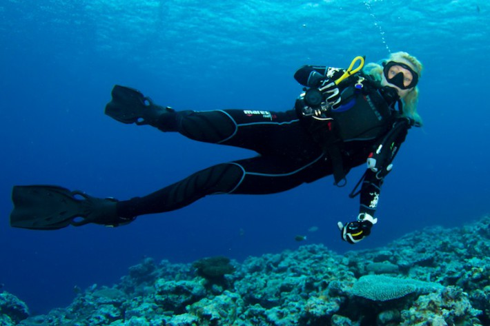 Diving while pregnant